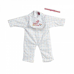 Play Time Baby Little Cutie Sleeper Outfit 33 cm