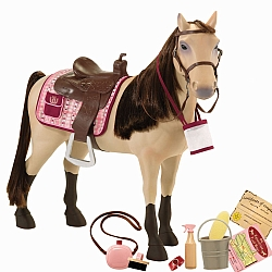 Our Generation Paarden Stapoppen 46 cm